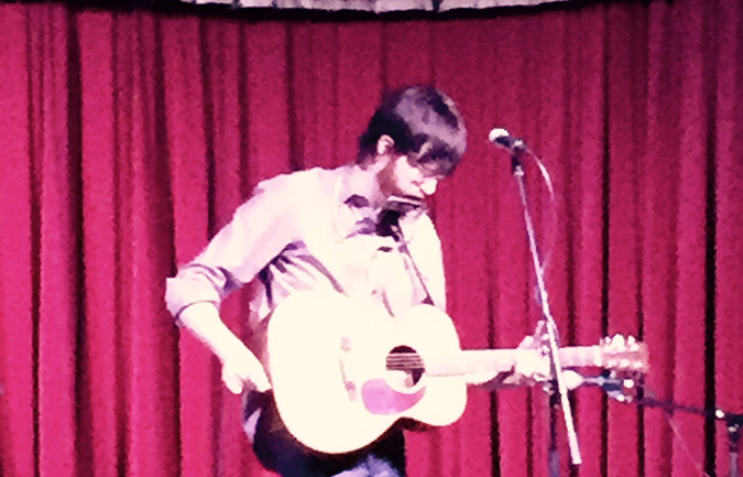 Will Sheff at Cactus Cafe (Photo by Zach Jennings)