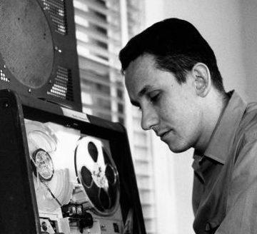 Mack McCormick in 1962. (Photo by Ed Valdez/Houston Chronicle 1962)