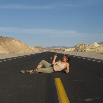 Debbie Pastor in Death Valley, California. (Courtesy Debbie Pastor)