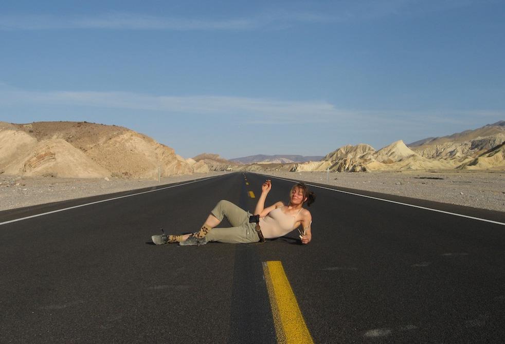 Debbie Pastor in Death Valley, California. (Courtesy Debbie Pastor)