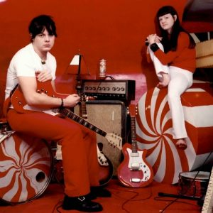The White Stripes in 2001. (Photo by Patrick Pentane)