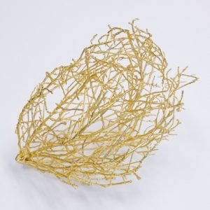 One of Bale Creek Allen's bronze tumbleweeds. (Courtesy Bale Creek Allen)