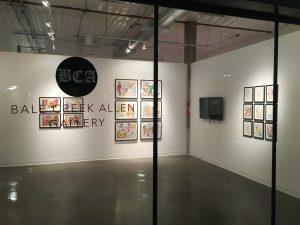 Bale Creek Allen Gallery in East Austin's Canopy art complex. (Courtesy Bale Creek Allen)
