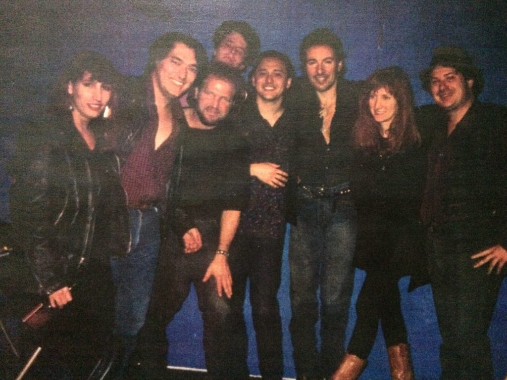 That night when Loose Diamonds met The Boss down in New Orleans. (Photo courtesy Troy Campbell)