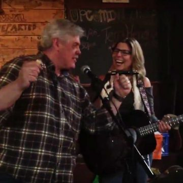 Terri Hendrix and Lloyd Maines at Superfly's Lone Star Music Emporium (Photo by Richard Skanse)