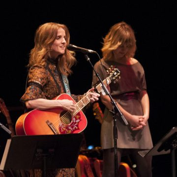 Patty Griffin and Anais Mitchell at Bass Concert Hall (Photo by Nichole Wagner)