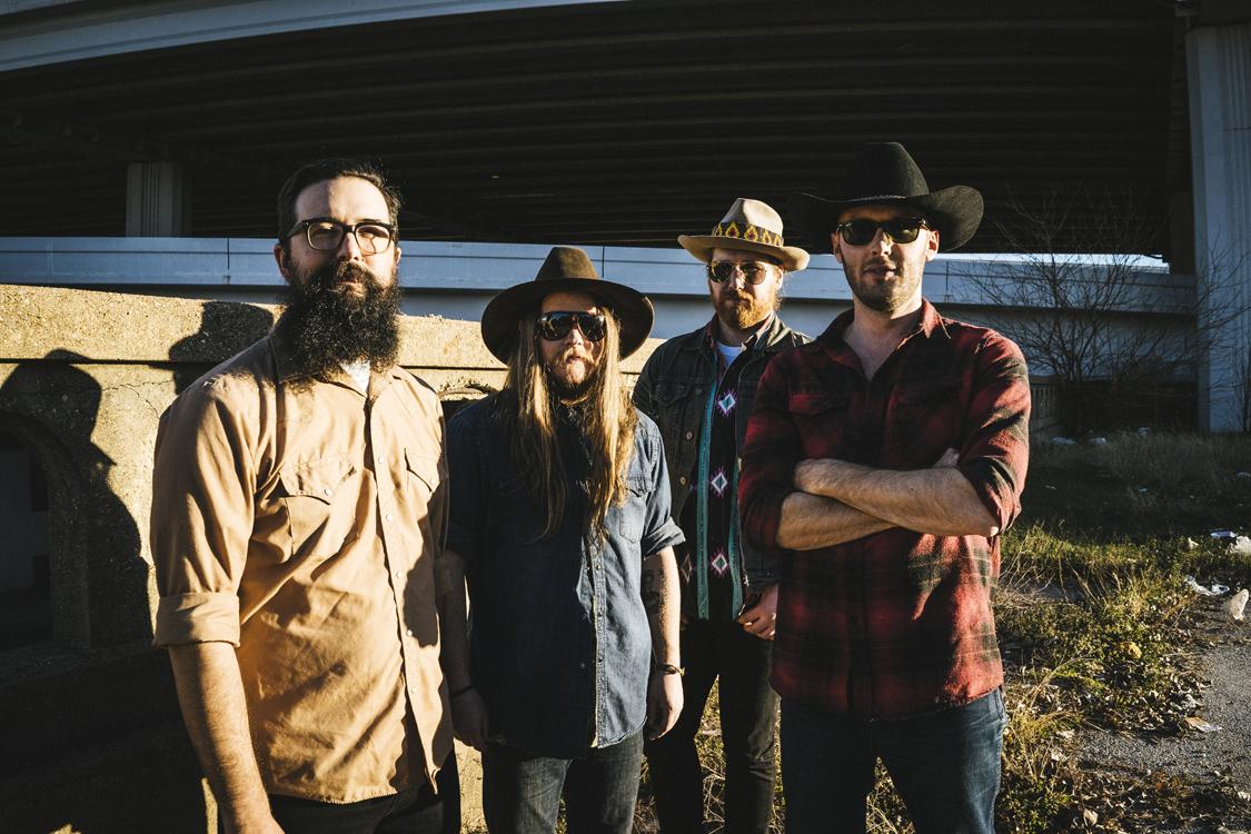 The Quaker City Night Hawks, from left, are Patrick Adams, Sam Anderson, Aaron Haynes, and David Matsler (Photo by Karlo X. Ramos)