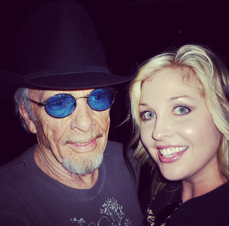 Merle Haggard and Sunny Sweeney (Courtesy Sunny Sweeney)