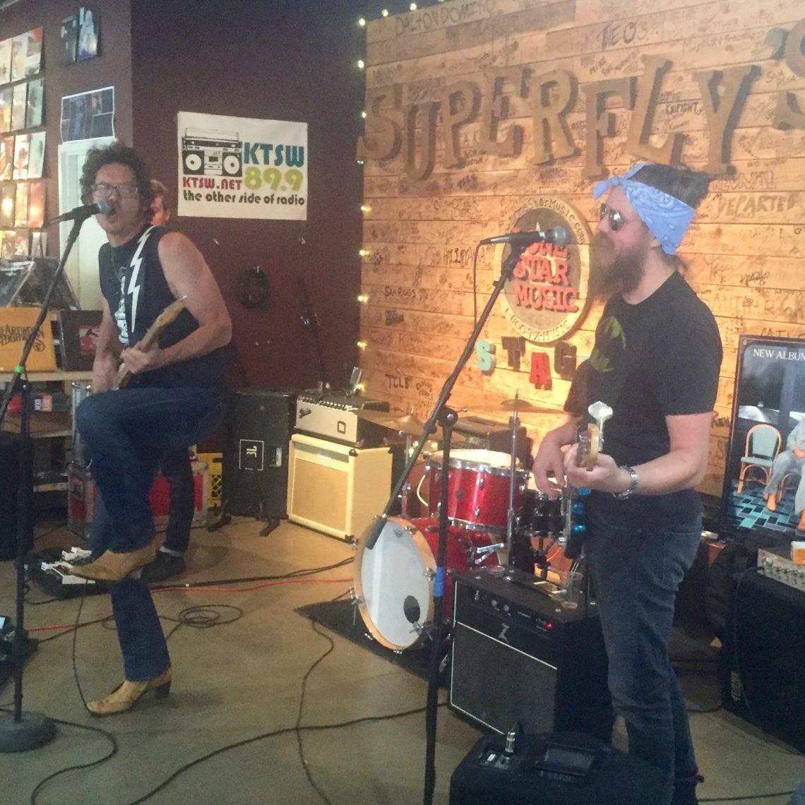 John Evans Band at Superfly's Lone Star Music Emporium in San Marcos, Texas. (Photo by Richard Skanse)