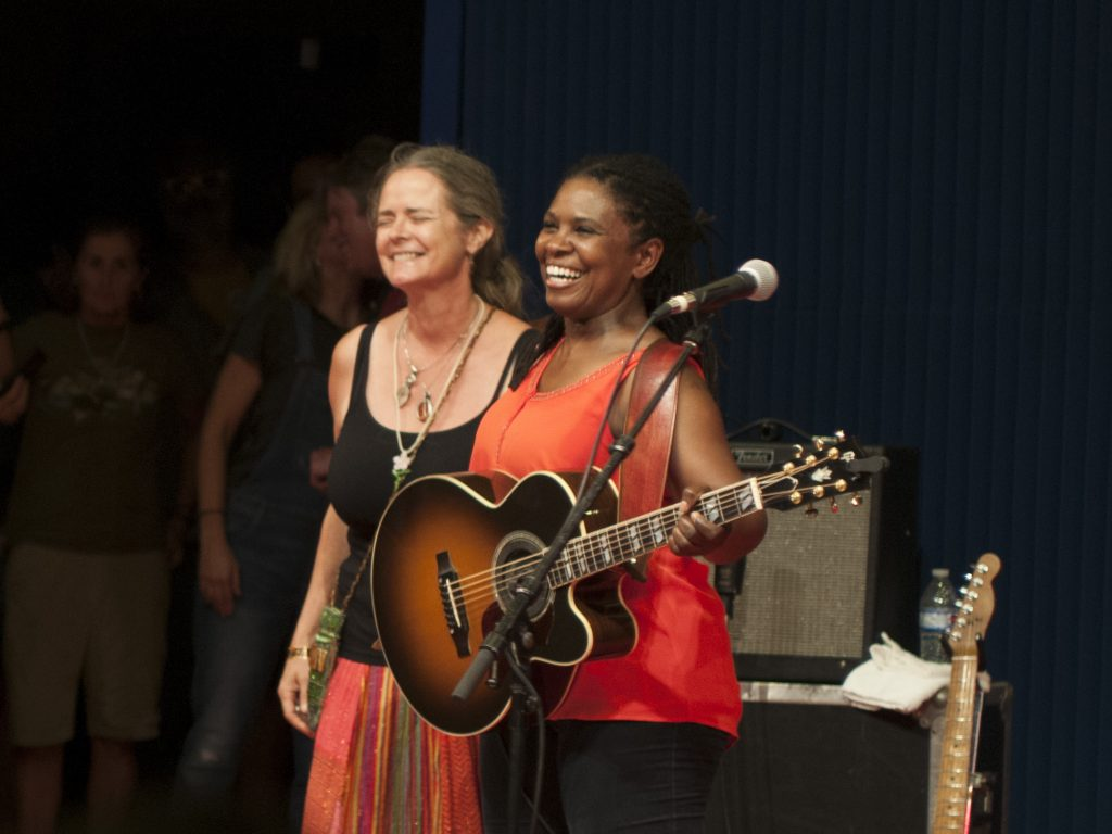 Full Circle: Ruthie Foster and Cyd Cassone (Photo by Nichole Wagner)