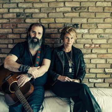 Steve Earle and Shawn Colvin (Photo by Alexandra Valenti)