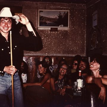 Joe Ely at Stubb's in Lubbock, 1975 (Courtesy JoeEly.com)