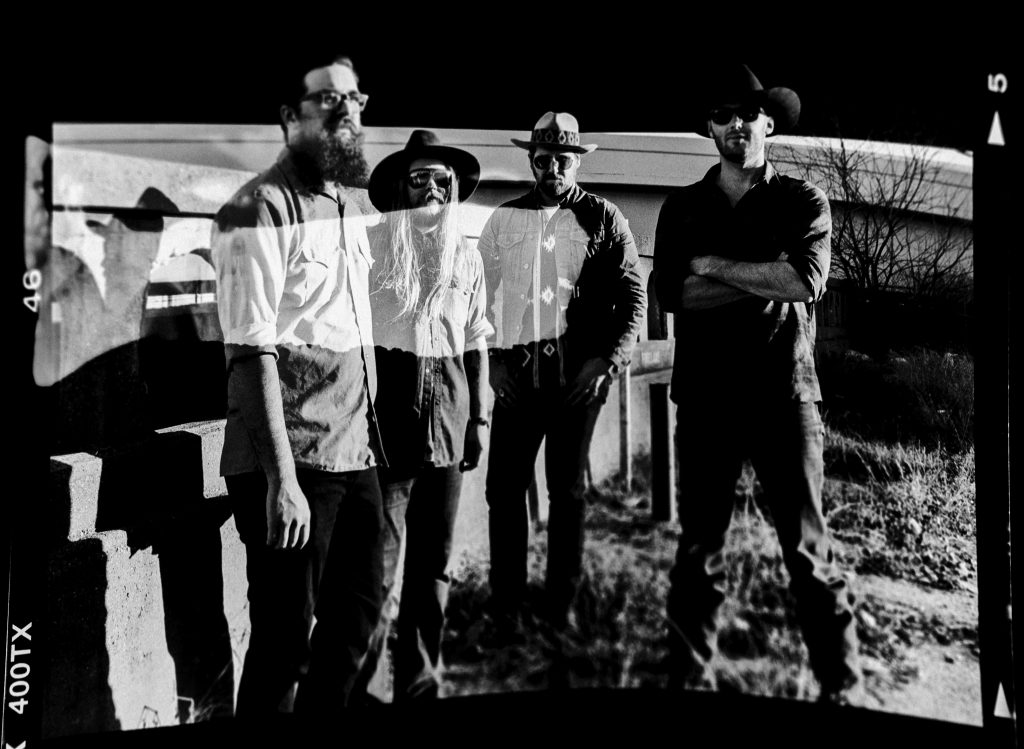 Texas Heavy: The Quaker City Night Hawks, from left, are Patrick Adams, Sam Anderson, Aaron Haynes, and David Matsler (Photo by Karlo X. Ramos)