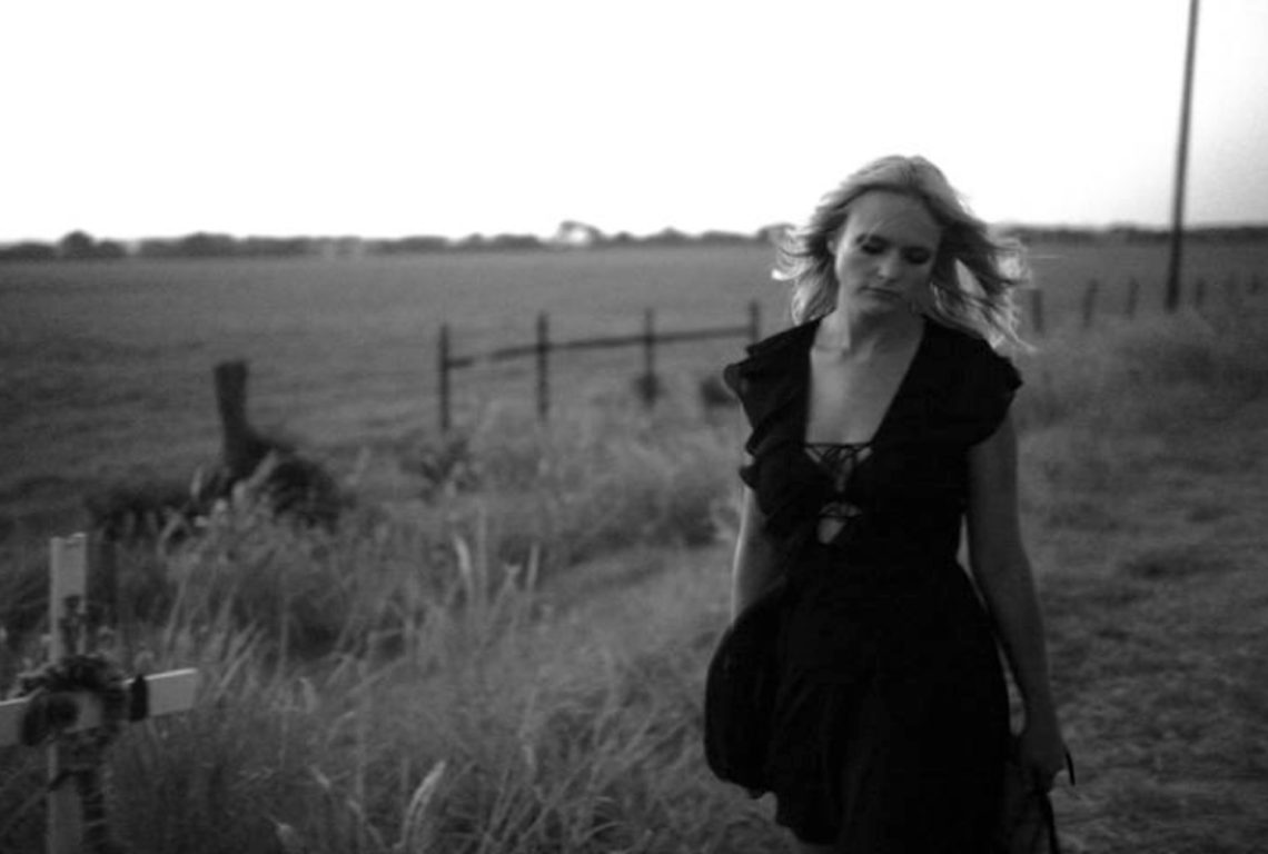 "Miranda Lambert in her video for ""Vice."" (Photo by Becky Fluke)"