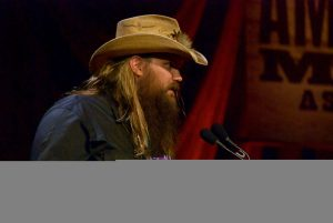 Artist of the Year winner Chris Stapleton. (Photo by Lynne Margolis)