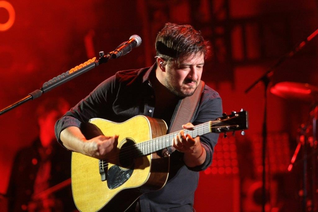 Marcus Mumford at ACL Fest (Photo by John Carrico)