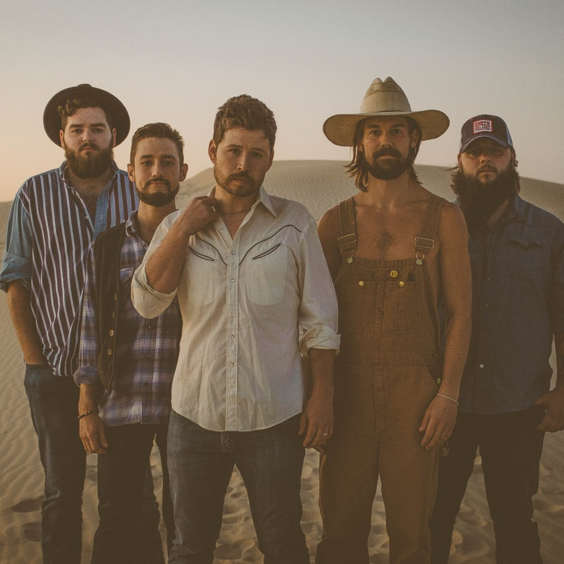 The Saints are coming: (from left) Tim Allen, Zach Stover, Shane Smith, Bennett Brown, and Chase Satterwhite. (Courtesy Shane Smith & the Saints)