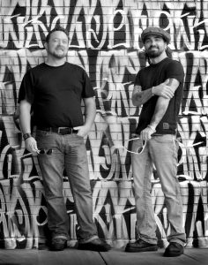 Red Dirt Brothers: Jeremy Plato and Cody Canada of the Departed. (Photo courtesy Cody Canada and the Departed)