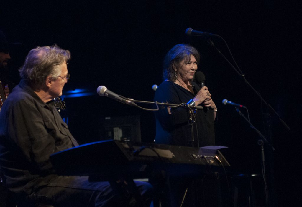 Lubbock Lights: Terry and Jo Harvey Allen at the Paramount. (Photo by Nichole Wagner)