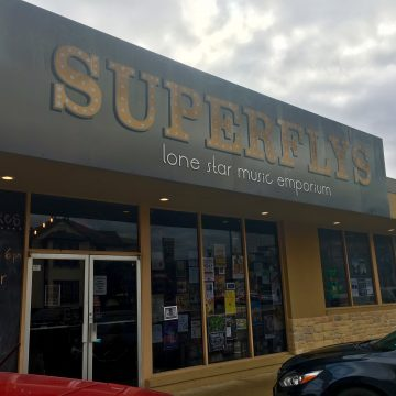 Superfly's Lone Star Music Emporium in San Marcos, Texas.