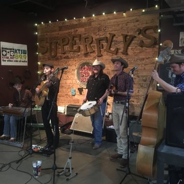 The Railhouse Band at Superfly's Lone Star Music Emporium. (Photo by Richard Skanse)