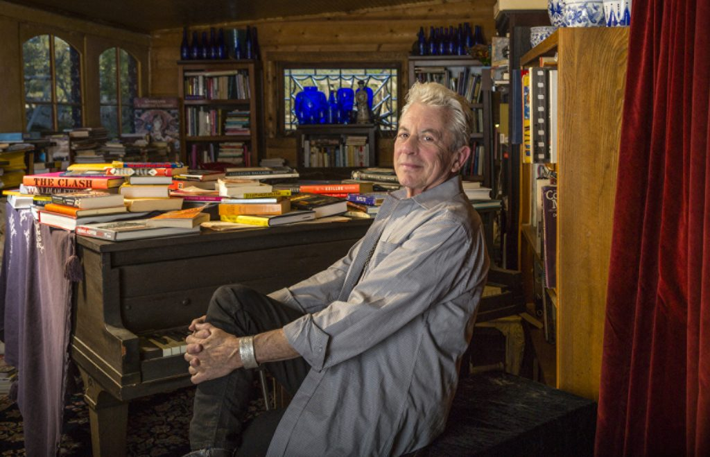 Joe Ely at home in Austin. (Photo by Matthew Fuller)