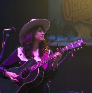 Highway Queen Nikki Lane at Old Settler's Music Festival 2017 (Photo by Nichole Wagner)