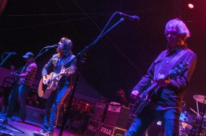 The Old 97's making their at Old Settler's Music Festival debut. (Photo by Nichole Wagner)