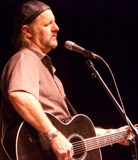 Jimmy LaFave at Woodyfest 2012 in Okemah, Oklahoma. (Photo by Lynne Margolis)