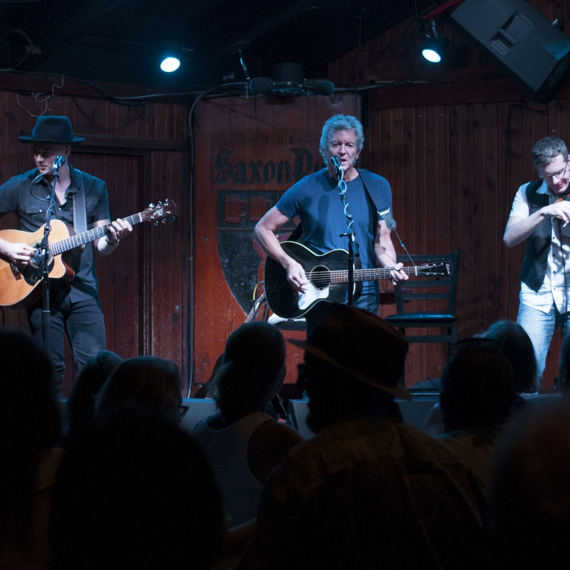 Rodney Crowell at the Saxon Pub. (Photo by Nichole Wagner)