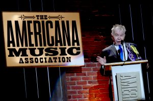 Artist of the Year winner John Prine (Photo by Rick Diamond/Getty Images for Americana Music)