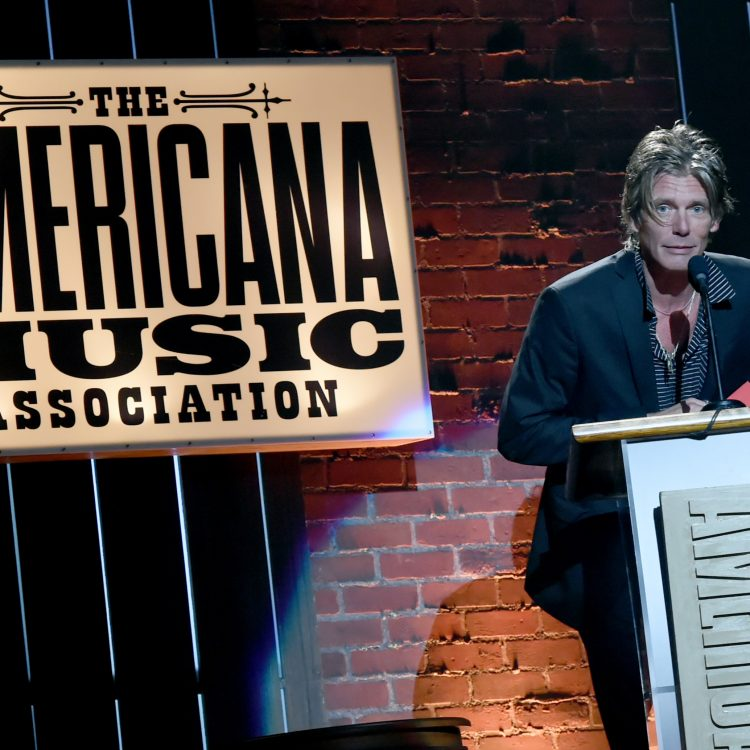 Instrumentalist of the Year winner Charlie Sexton at the 2017 Americana Music Association Honors Awards in Nashville. (Photo by Rick Diamond/Getty Images for Americana Music)