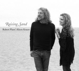 "Robert Plant and Alison Krauss's ""Raising Sand"" won Album of the Year at the 2009 Grammy Awards."