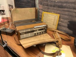 The machine Jerry Jeff Walker's New Orleans friend Jay Edwards used to make his first-ever recordings back in 1964 and 1965. (Photo by Richard Skanse)