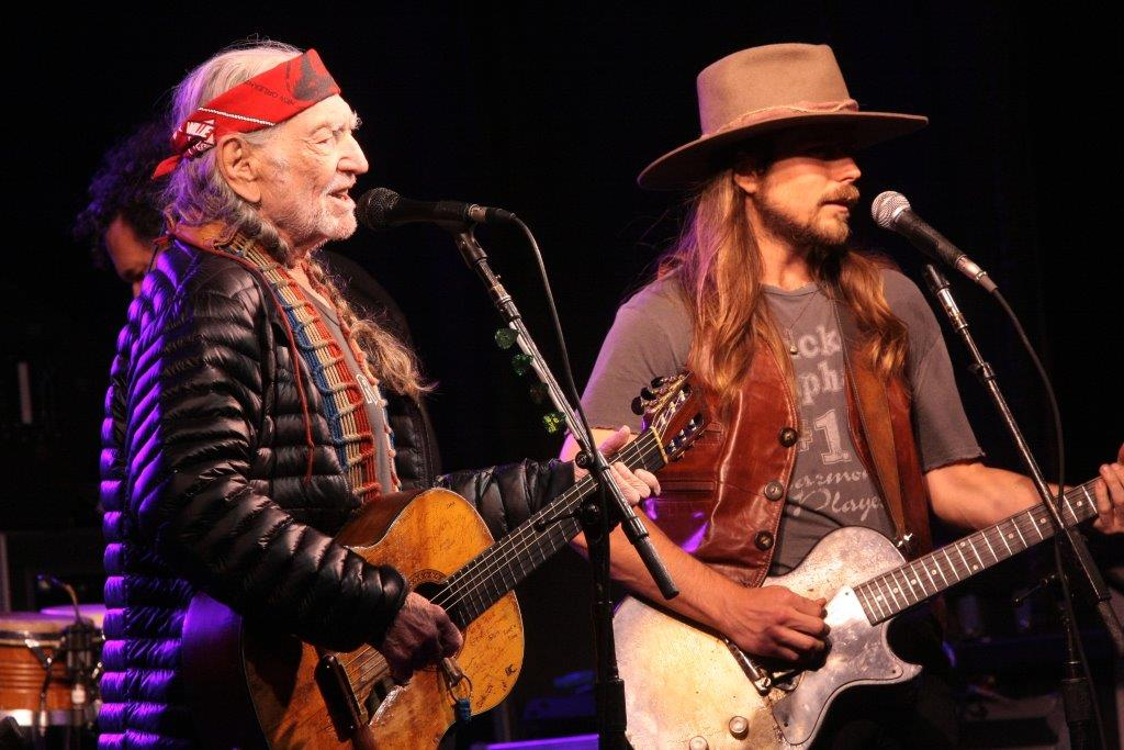 Willie and Lukas Nelson (Photo by John Carrico)