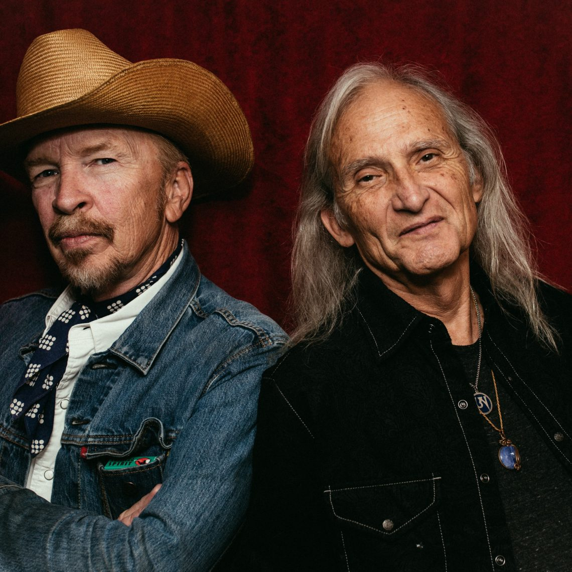 Dave Alvin and Jimmie Dale Gilmore (Photo by Daniel Jackson)