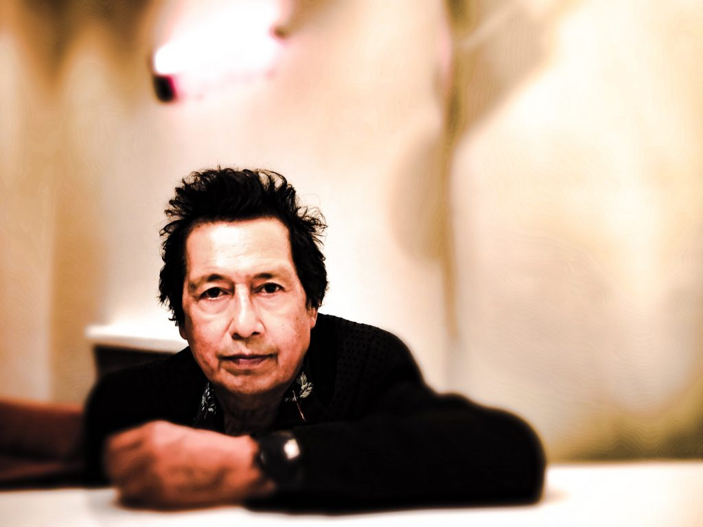 """Alejandro Escovedo on """"The Crossing"""": """"If this was the last record I ever made, and I hope it's not, but if it were to be, I think that I've said everything that I've ever wanted to say on this record."""" (Photo by Nancy Escovedo)"""