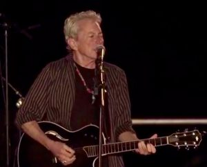 Joe Ely ((Screen grab from Beto O'Rourke's FaceBook Live video)