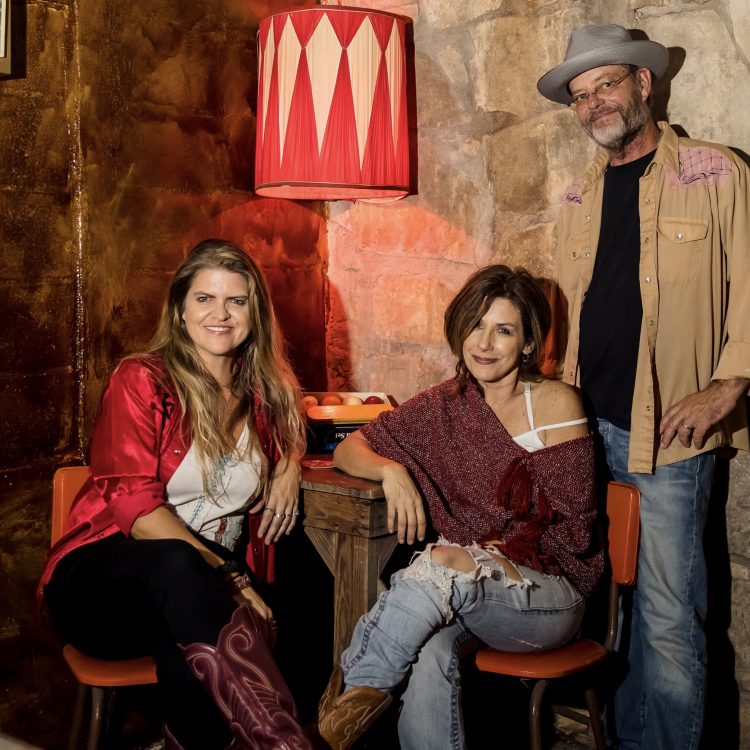 """The Devil's Keepers: New owners (from left) Robyn Ludwick, Abbey Road, and John """"Lunchmeat"""" Ludwick. (Photo by Robbyn Dodd)"""