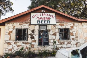 The Devil's Backbone Tavern in Fischer, Texas. (Photo courtesy of Robyn Ludwick)